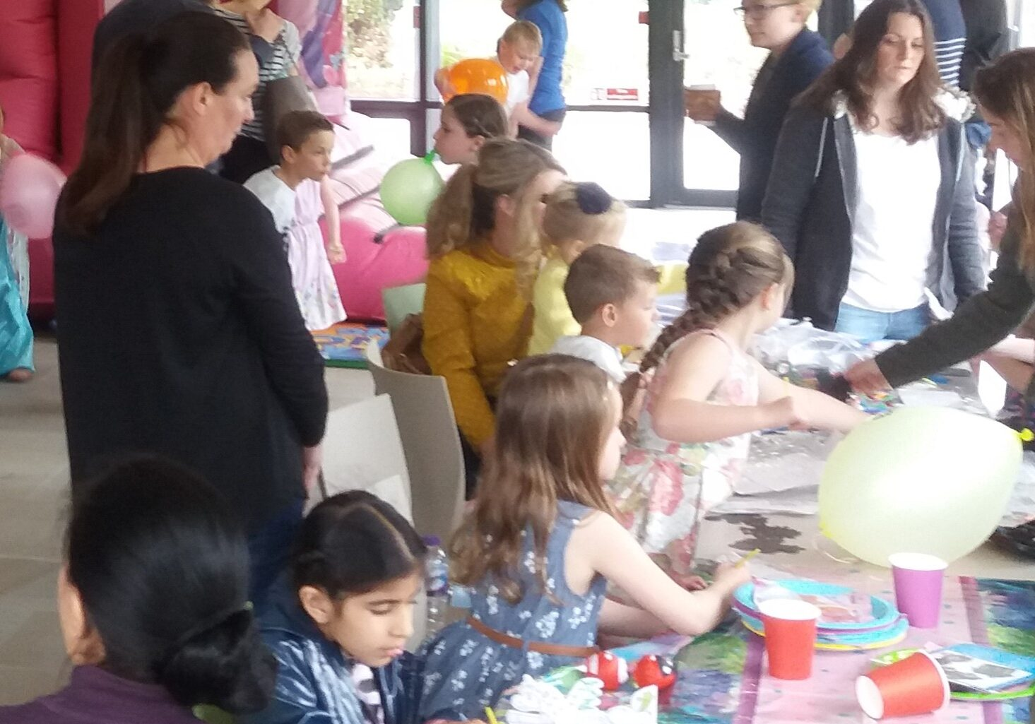 Children's birthday party in the Lodge