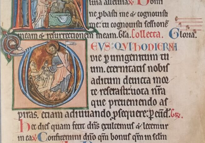 Page from missal